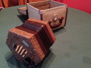 My father's concertina. I found it in a closet.
