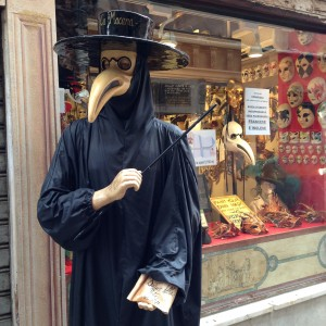 A mask store in Venice.