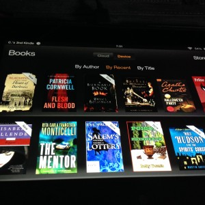 A few books on my Kindle right now...