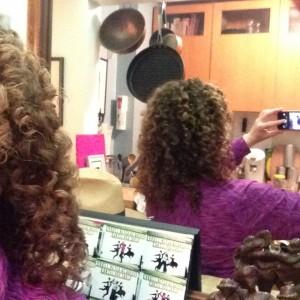 A hair selfie...