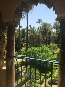 One of my favorite spots at Real Alcazar in Seville.