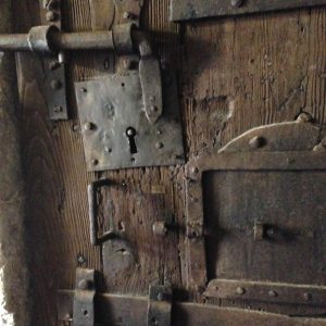 A door in the dungeon of the Doge's Palace in Venice. Yes, I got lost THERE!