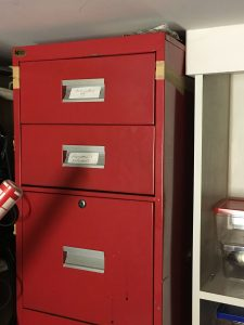 The scary file cabinet loaded with old poems, bad novels, horrifying short stories and more...