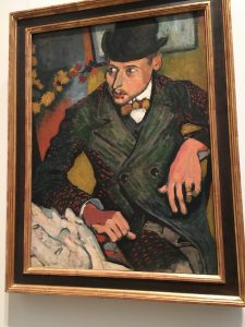 Andre Derain's painting looked different and called out to me.