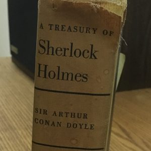 A much read and loved copy of Sherlock Holmes' adventures.