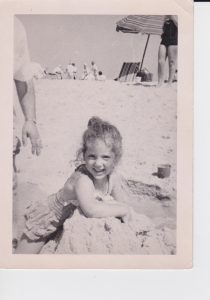 Me at the beach a long, long time ago!